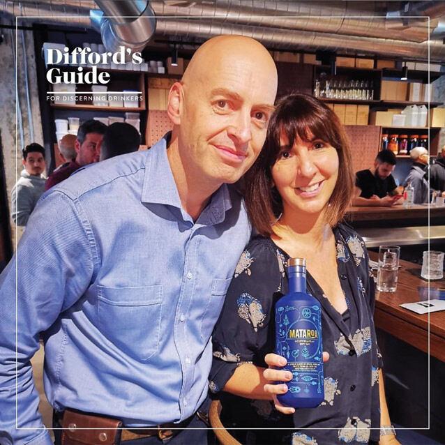 Simon Difford & Paloma Alos talk about Mataroa Mediterranean Dry Gin